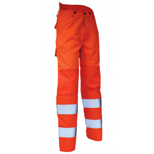 Brushcutter Trousers HI VIZ Class 2 Medium Orange