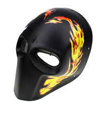COOL Paintball CS Airsoft Full Face PC Lens Eye Protection Skull Mask PROP L7836