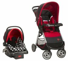 New Disney Travel System Mickey Pram Car Seat Stroller International Ship