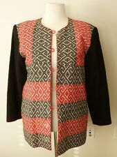 Tribal Ethnic Woven Blazer Jacket From Thailand Size Large