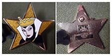 PIN DISNEY GOLD STAR SERIES EVIL QUEEN GLITTER  REINE BLANCHE NEIGE TRADING 2007