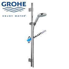 GROHE RAINSHOWER CLASSIC 130 RISER RAIL KIT SHOWER HEAD AND WALL HOLDER SET NEW