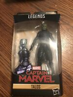 "Marvel Legends 6"" Captain Marvel TALOS SKRULL Kree Sentry BAF New Sealed"