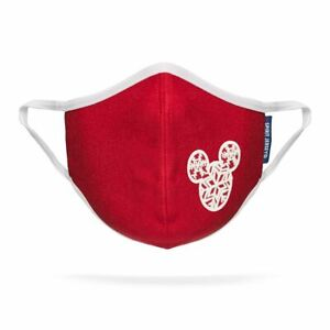 Disney Mickey Mouse Icon Snowflake Face Mask by Spirit Jersey Youth Small Medium