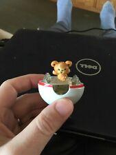 Pokemon Pop n Battle Teddiursa Pokeball used 2009 Nintendo JAKKS Japan toy