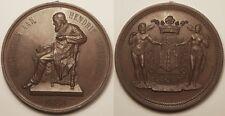 Grande Médaille, Belgique, Antwerpen Aan, Hendrik Conscience, 1883 !!