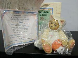 "Cherished Teddies Tabitha ""You're the Cat's Meow"" 1996 Figurine"