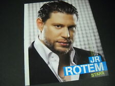 Jr Rotem versatile Producer and Songwriter 2007 Promo Poster Ad mint condition