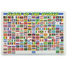 Painless Learning Placemat: Flags of The World