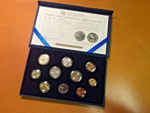 Euro-Kursmünzensatz Unzirkuliert Malta 2011 in Schatulle & 2€ Gedenkmünze & Repl