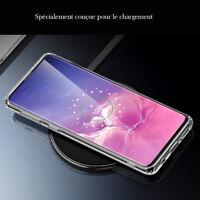 Coque tel Galaxy housse étui TPU 360 intégrale transparent samsung S10/S10+/plus