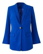 Split Sleeve Blazer blue. UK Size-24