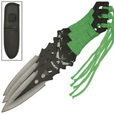 Pestilence Three-Piece Outdoor Target Throwing Knife Set