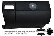 Noir coutures boîte à gants couverture en cuir pour chrysler crossfire 03-08