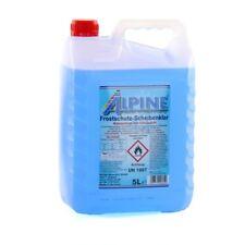 ALPINE Frostschutz SCHEIBENKLAR Scheibenfrostschutz Konzentrat -60°C BLAU 5L