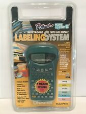 Brother P Touch Home And Hobby Iii Pt85 Electronic Labeling System