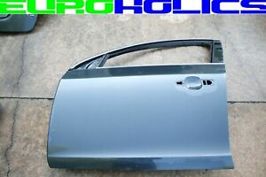 OEM Volvo S60 11-18 Left Driver Front Door Shell GRAY *FREIGHT SHIP*