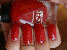 NEW Sally Hansen Complete Salon Manicure nail polish RED MY LIPS