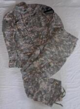Tenue treillis veste + pantalon ACU armée US d'un vétéran de la guerre d'Irak
