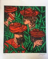 Serigraph by Eduardo Roca (Choco). 2017 Untitled. Original Signed. Cuban Art