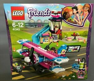 LEGO 41343 LA VISITE EN AVION FRIENDS SET NEUF NEW NUOVA %