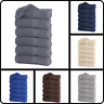 """Pack of 6 Luxury Large Bath Towels 100% Cotton 27""""x55"""" 500 GSM Highly Absorbent"""