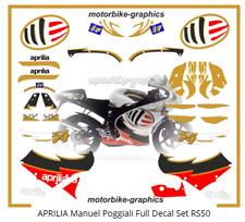 APRILIA Manuel Poggiali Full Decal Set RS50