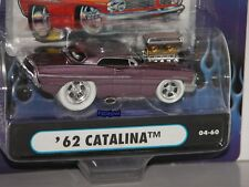 Muscle Machines 1962 Pontiac Catalina 62 White Tire Limited Edition 1/1496 1:64