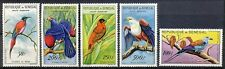 SENEGAL 1960 - AFRICAN FISH EAGLE /CARMINE BEE-EATER/ RED BISHOP ETC. MNH Hk852e