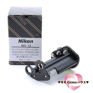 [NEW] Nikon AA TYPE Battery Holder MS-12 for Nikon F100 camera  Japan