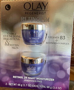 Authentic Olay Regenerist Retinol 24 Night Facial Moisturizer (1.7 fl oz, 2 pk)