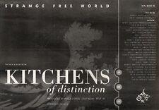 23/3/91 Pgn29 Advert: strange Free World Kitchens Of Distinction Album 7x11