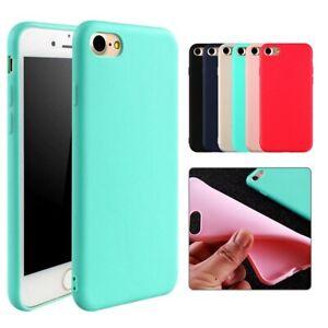 Coque en silicone protection Iphone 6 6s 7 7 plus