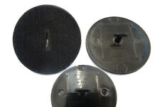 ROVER & MINI CAR INTERIOR FLOOR MAT ADHESIVE LOOP/LOCK PLASTIC 80MM CLIP x2