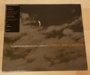 COHEED AND CAMBRIA 'IN KEEPING SECRETS OF SILENT EARTH:3' CD ALBUM WITH SLIPCASE