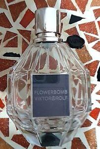 VIKTOR & ROLF FLOWERBOMB 50ML - EMPTY COLLECTORS FRAGRANCE BOTTLE - NO PRODUCT!!