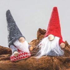 Filzwichtel mit Strickpulli und Filzmütze 8cm Set Weihnachtswichtel