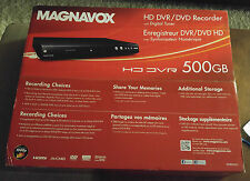BRAND NEW Magnavox MDR865H 500GB HD DVR DVD Recorder with Digital Tuner HDD