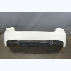2006-2011 BMW E90 3-Series Sedan Aftermarket Rear Bumper Cover Trim Alpine White