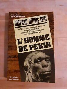 L'homme de Pekin - Janus & Brashler - Seghers Document (1975)