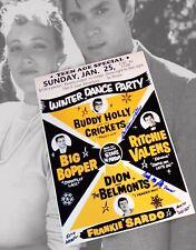Lou Diamond Phillips & Danielle von Zerneck Autographed 12x18 Poster La Bamba