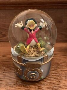 "Scrooge McDuck  ""Snow Globe"" Music Box In His Vault -Plays ""Pennies From Heaven"""