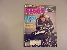 MAY 1989 CYCLE WORLD MAGAZINE,HOLLYWOOD HARLEYS, JAY LENO BIKES,ICE RACING,AMA