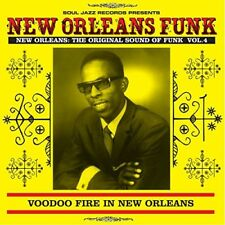 SOUL JAZZ RECORDS NEW ORLEANS FUNK 4 VOODOO FIRE IN NEW ORLEANS 1951-75 CD NEUF