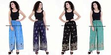 LOT OF 5 INDIAN BAGGY GYPSY HAREM PANTS YOGA WOMEN PRINTED TROUSER PLAZOO PANT