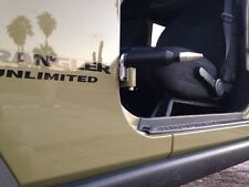 Flat Black Jeep JK (2007+) Door Hinge Foot Pegs!!!