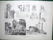 Temple de la Maison-Basse à Vernégue ( Bouches-du-Rhône ) planche début XX°