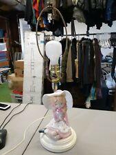 Little Girl Lamp No Shade Nursery Table Lamp Little Girl's Room Works