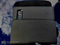 For Samsung Galaxy Note 10+ 5G Black Leather Belt Clip Horizontal Pouch Holster