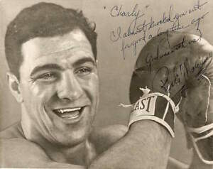 ROCKY MARCIANO ` BOXING METAL POSTER BOXING LARGE METAL TIN SIGN WALL PLAQUE